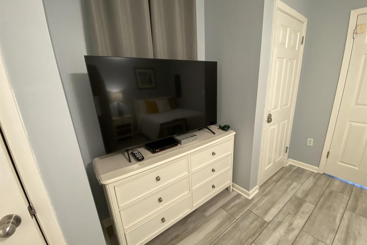 "Guest Bedroom - 55"" Flat Screen TV"