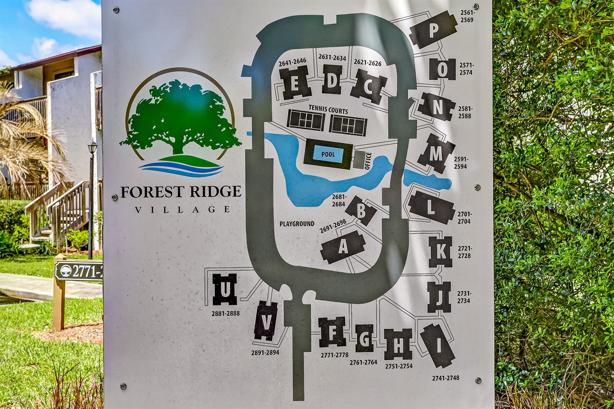 Map of Forest Ridge Complex
