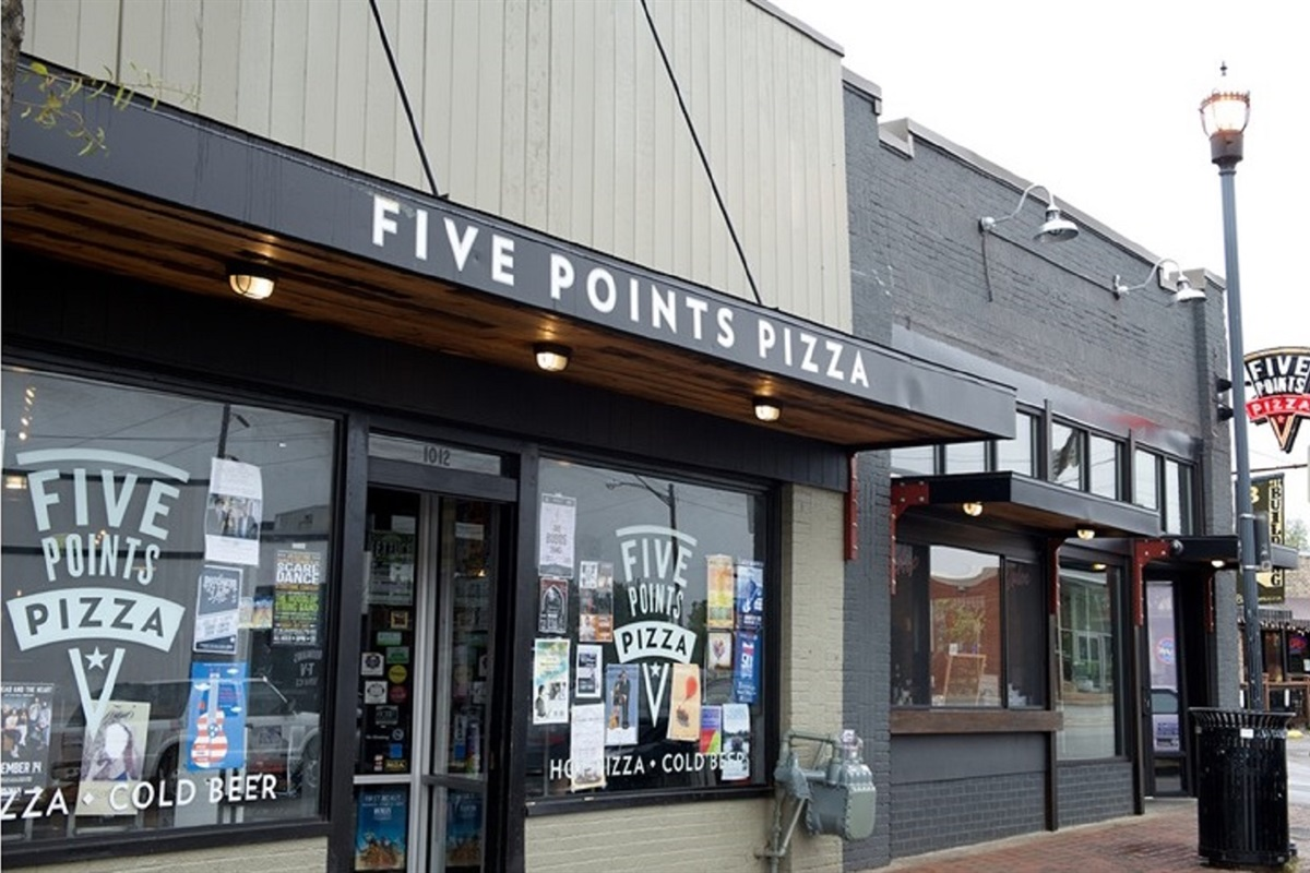 Take a walk down to Five Points where you'll find some of the best bars and restaurants in town!