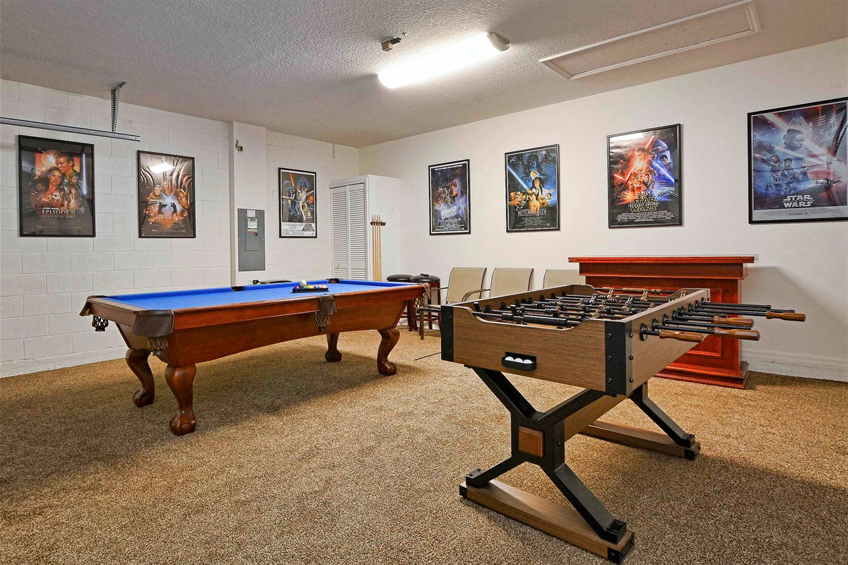 The game room.
