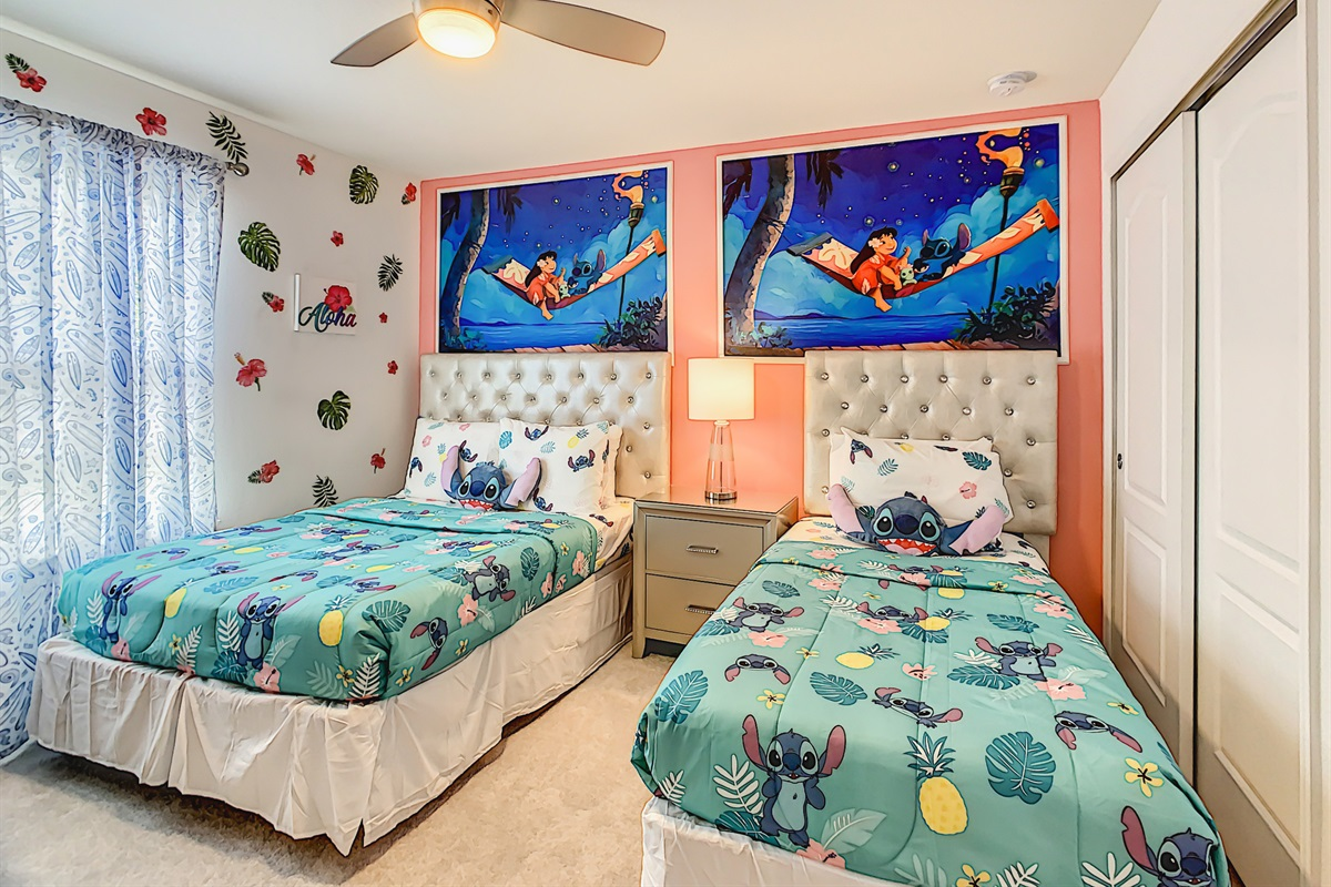 Bedroom 5-2nd Floor-Twin Bed And Double Bed
