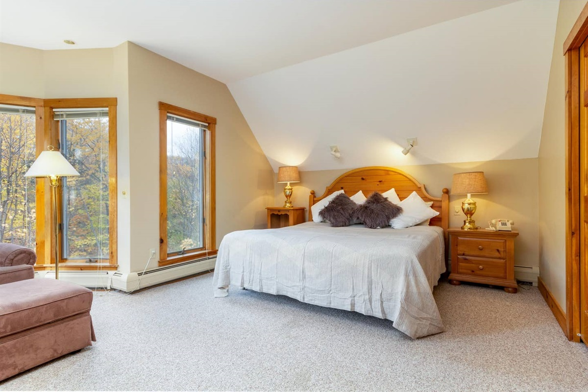 Master Bedroom with enormous ensuite (and sauna)