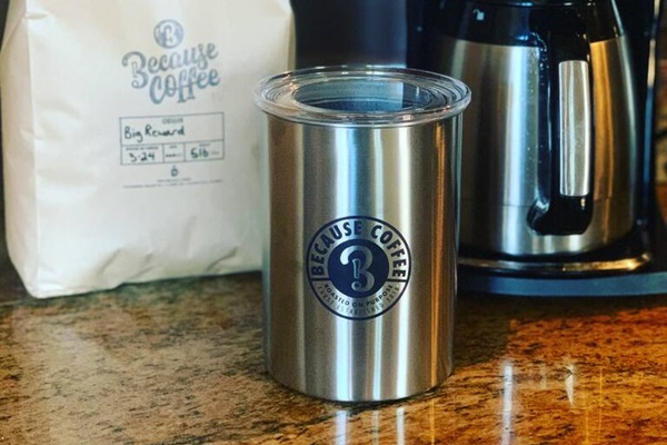 We carry Because Coffee from a local shop that is freshly roasted!