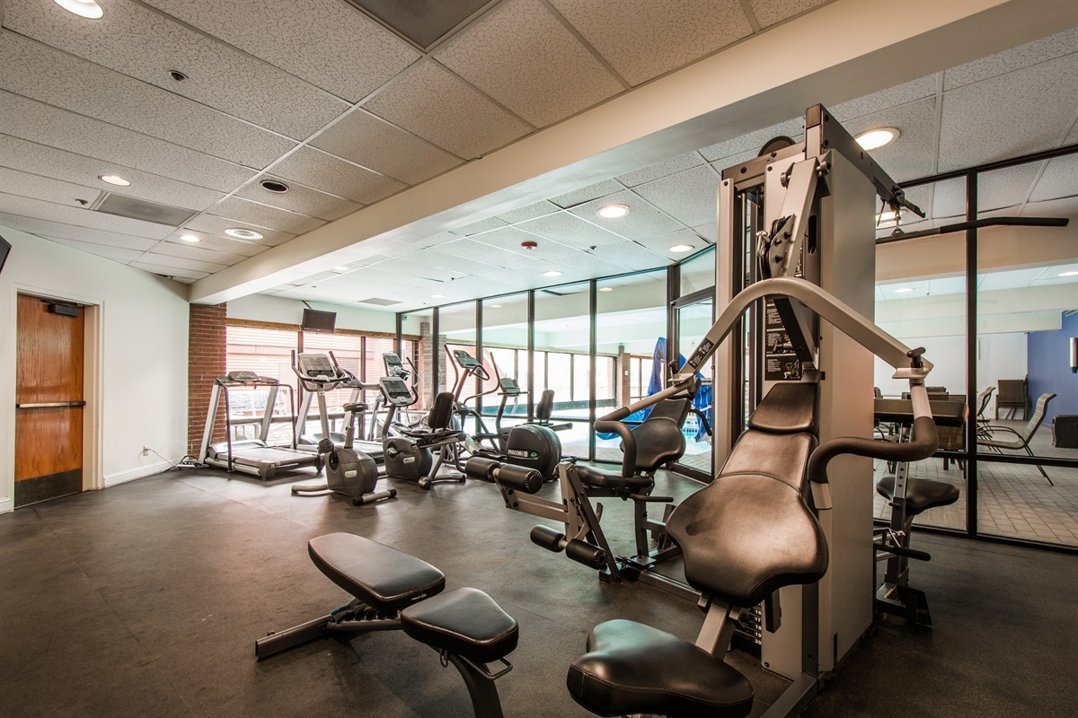gym available all year round