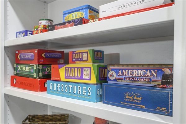 Several family game options