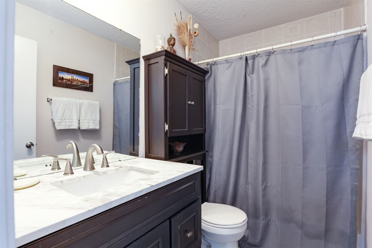 2nd Bathroom - Upstairs
