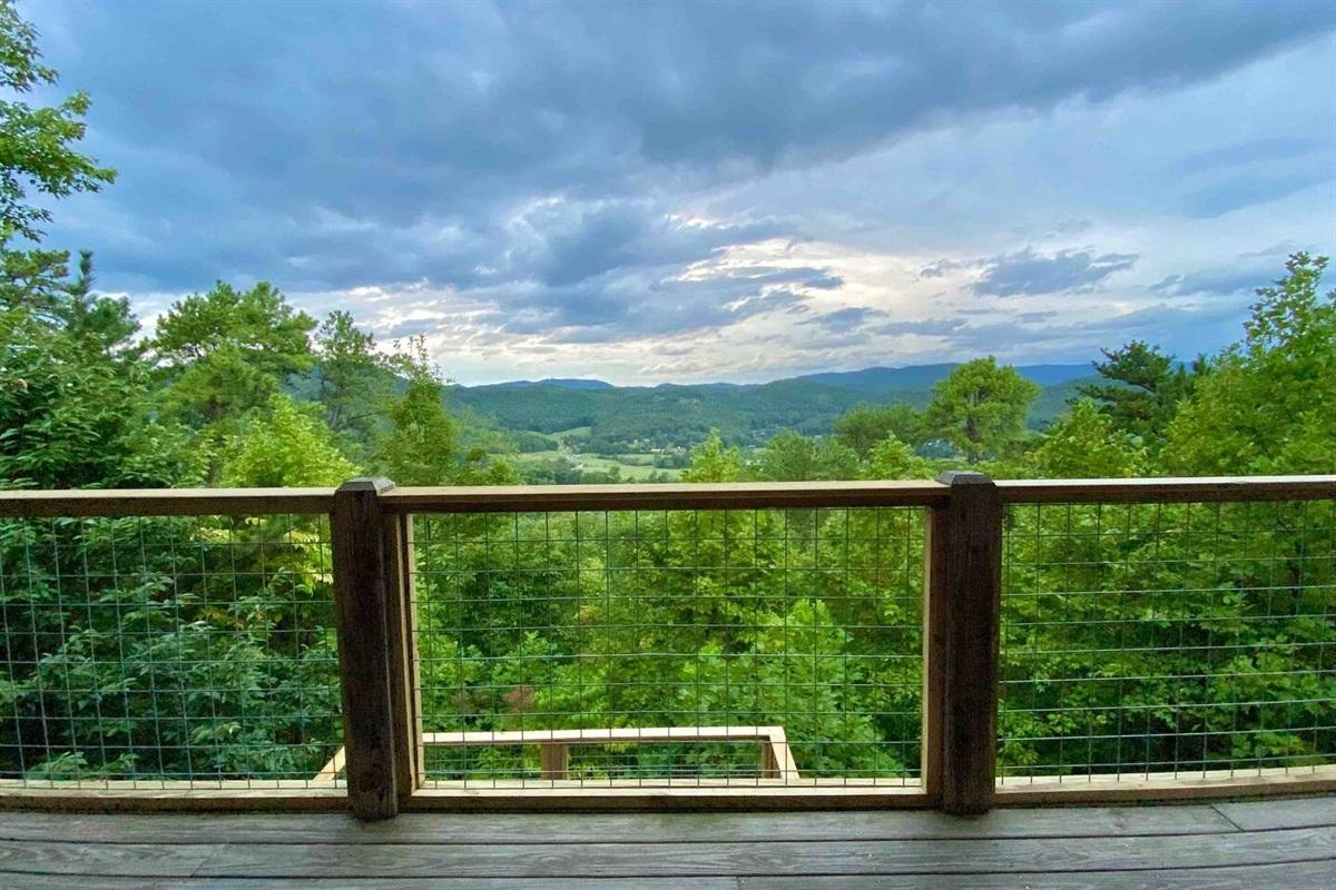 Beautiful emerald views