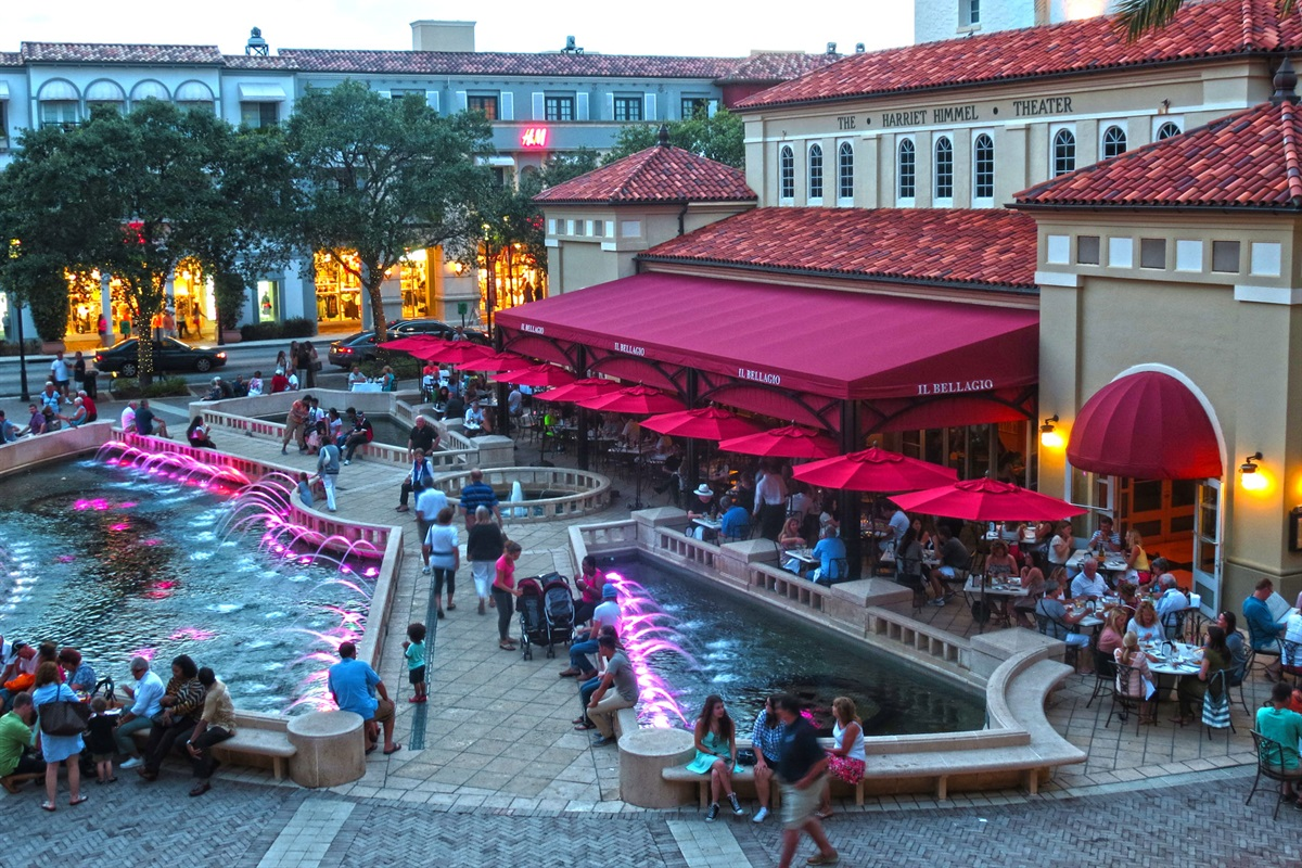 Downtown City Place- shopping, dining, movies and entertainment