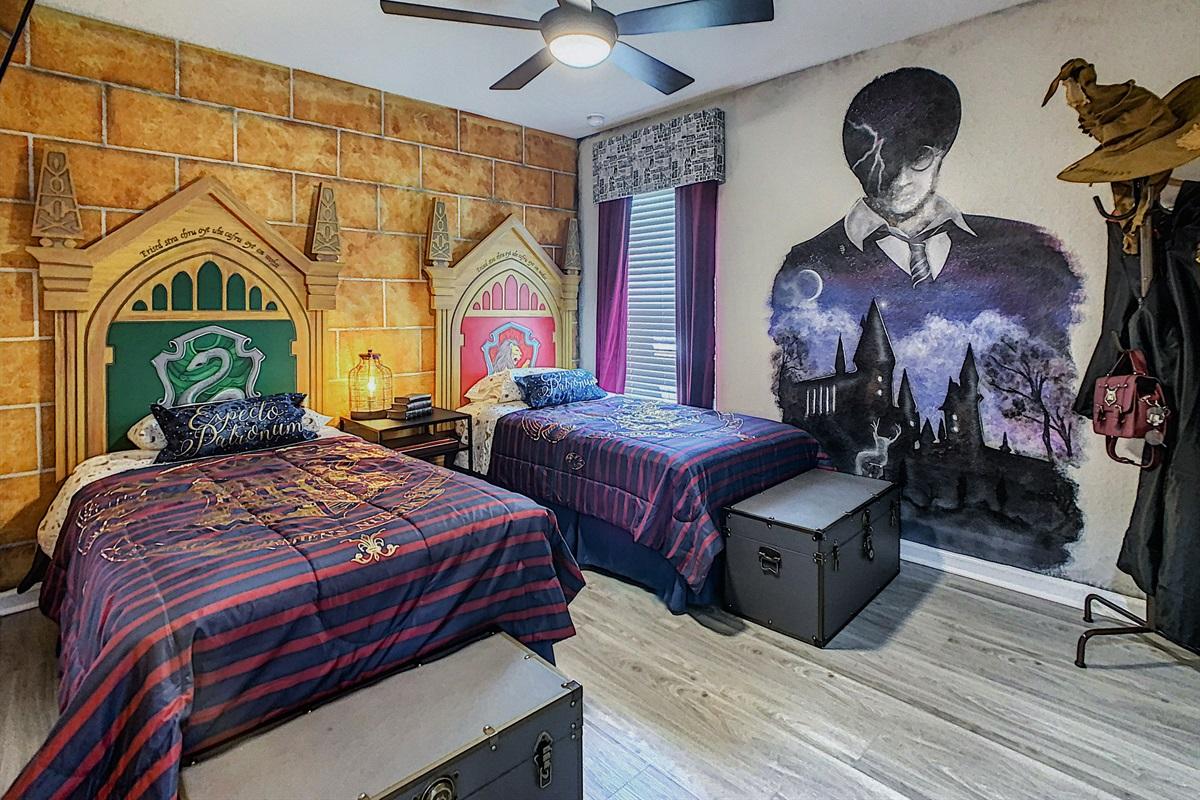 Bedroom #3-First Floor-2 Twin Beds