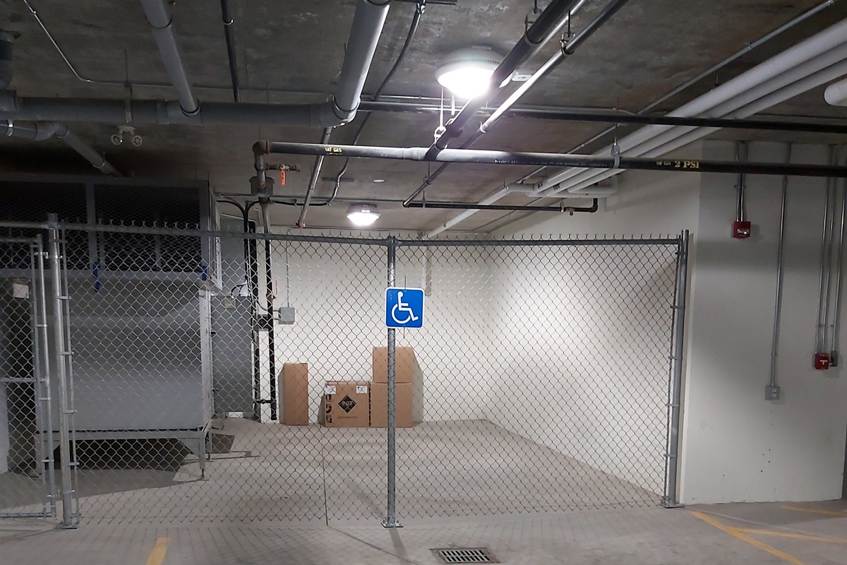 Mobility challenged parking
