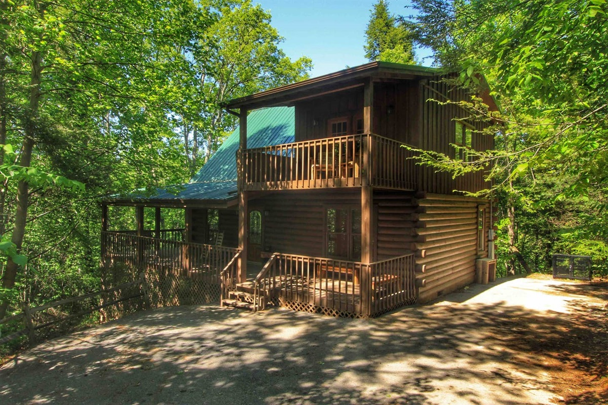 """""""The perfect mountain retreat! This cabin is tucked back into the trees for some private getaway time, but also close enough to town and amazing hiking that you don't spend too much time in the car."""" - Rachel"""