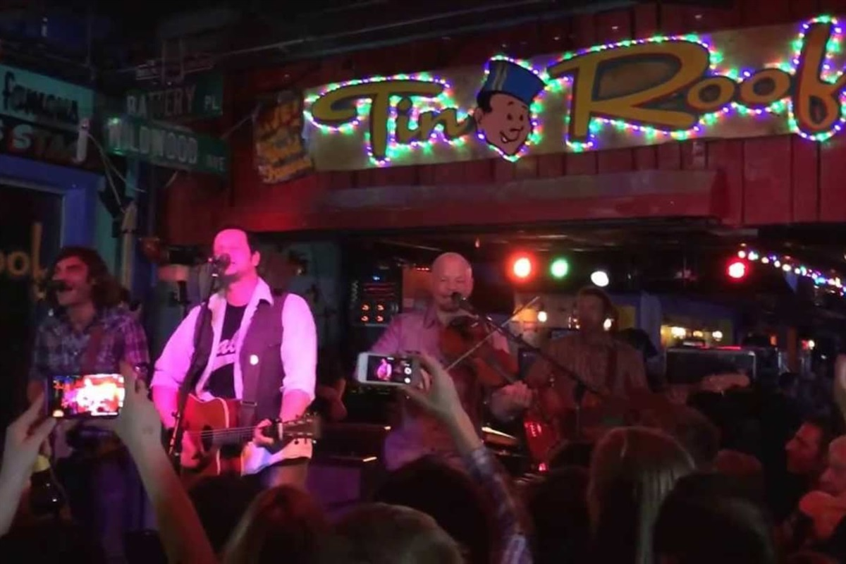 Live music almost every night at Tin Roof on Demonbruen