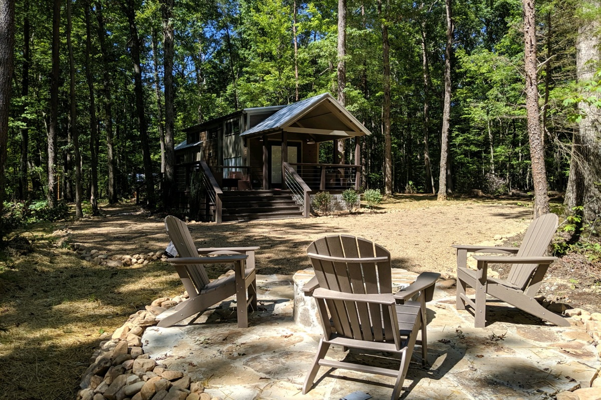 Get that peaceful easy feeling at The Woods!
