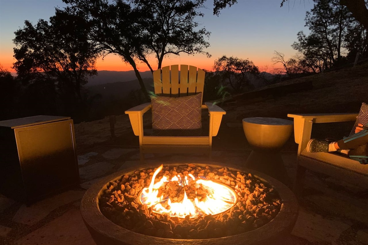 Fire bowl. Seasonal use only. Not available May-Sep, during high-fire season.