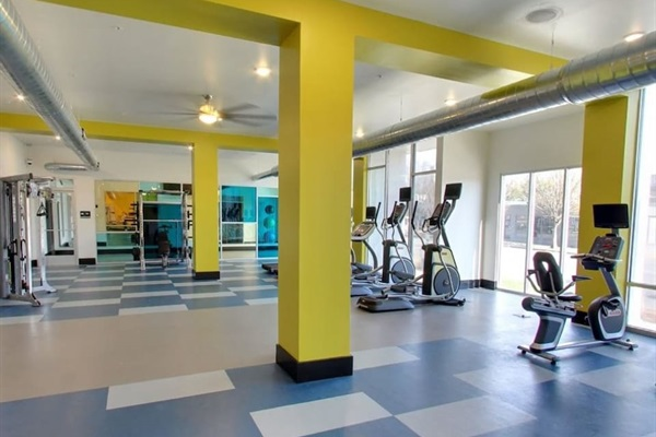 24-Hour Fitness Center & Yoga Room