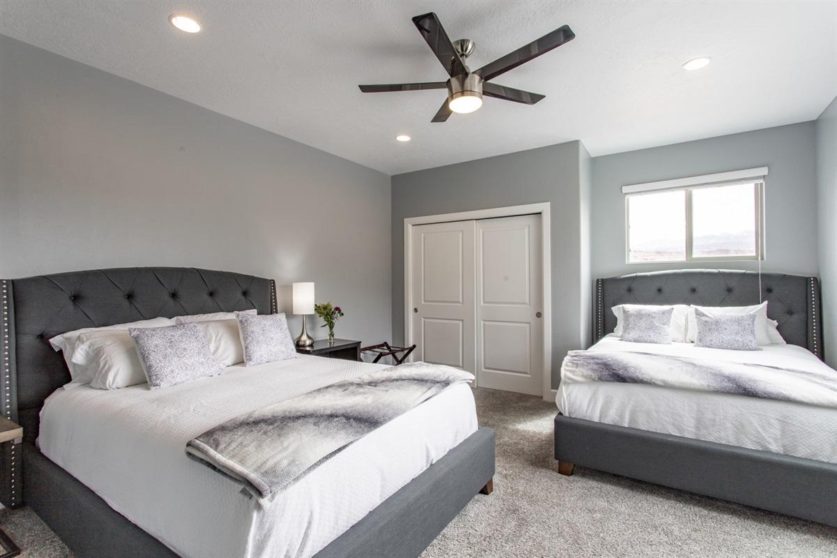 Guest Suite 3- 2 Queen Beds