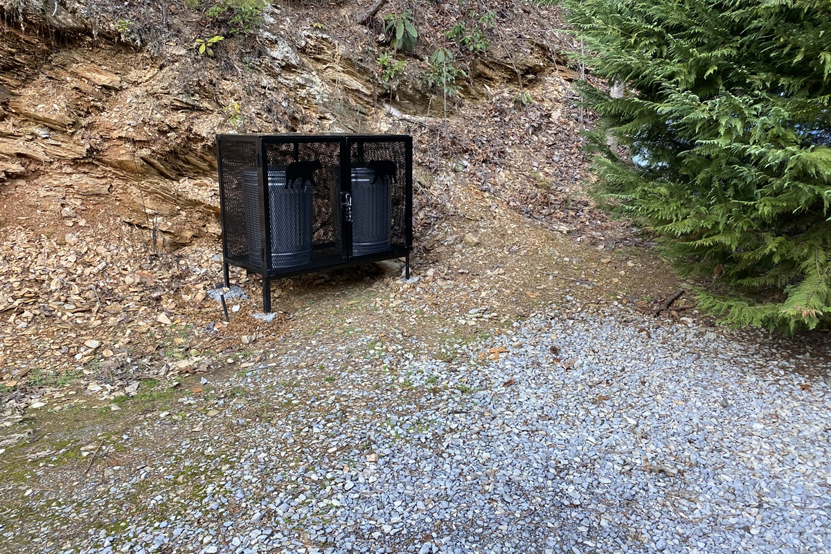 Bear-proof refuse container