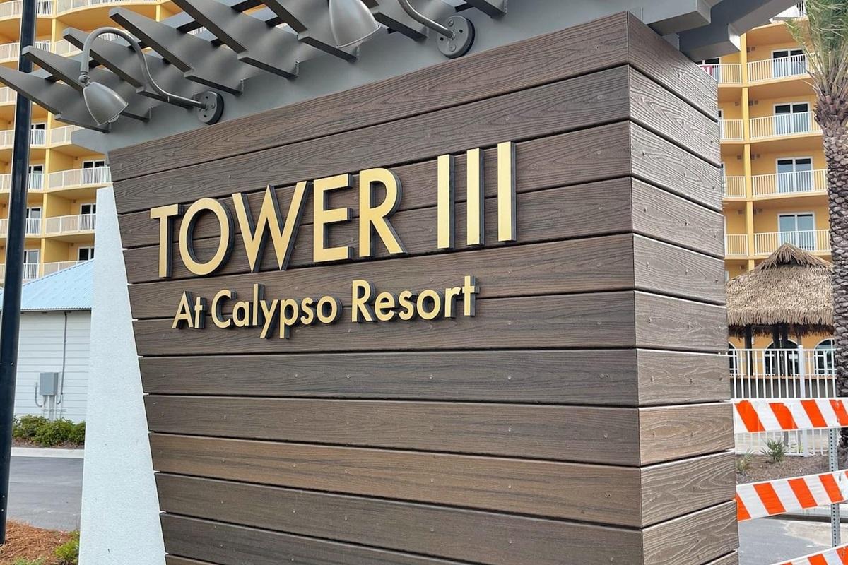 All brand new Calypso Tower III
