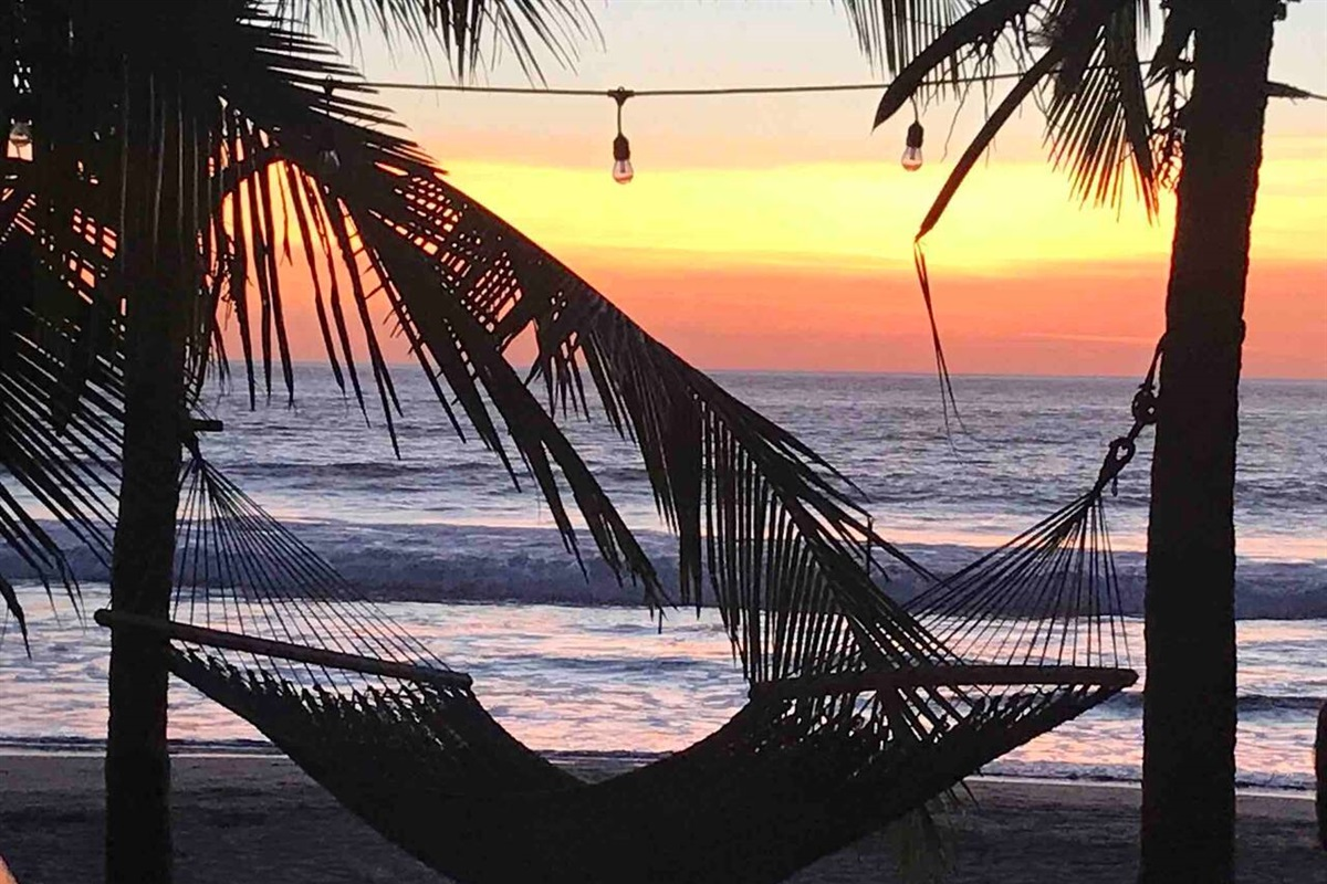 Grab a hammock at the beach and relax!