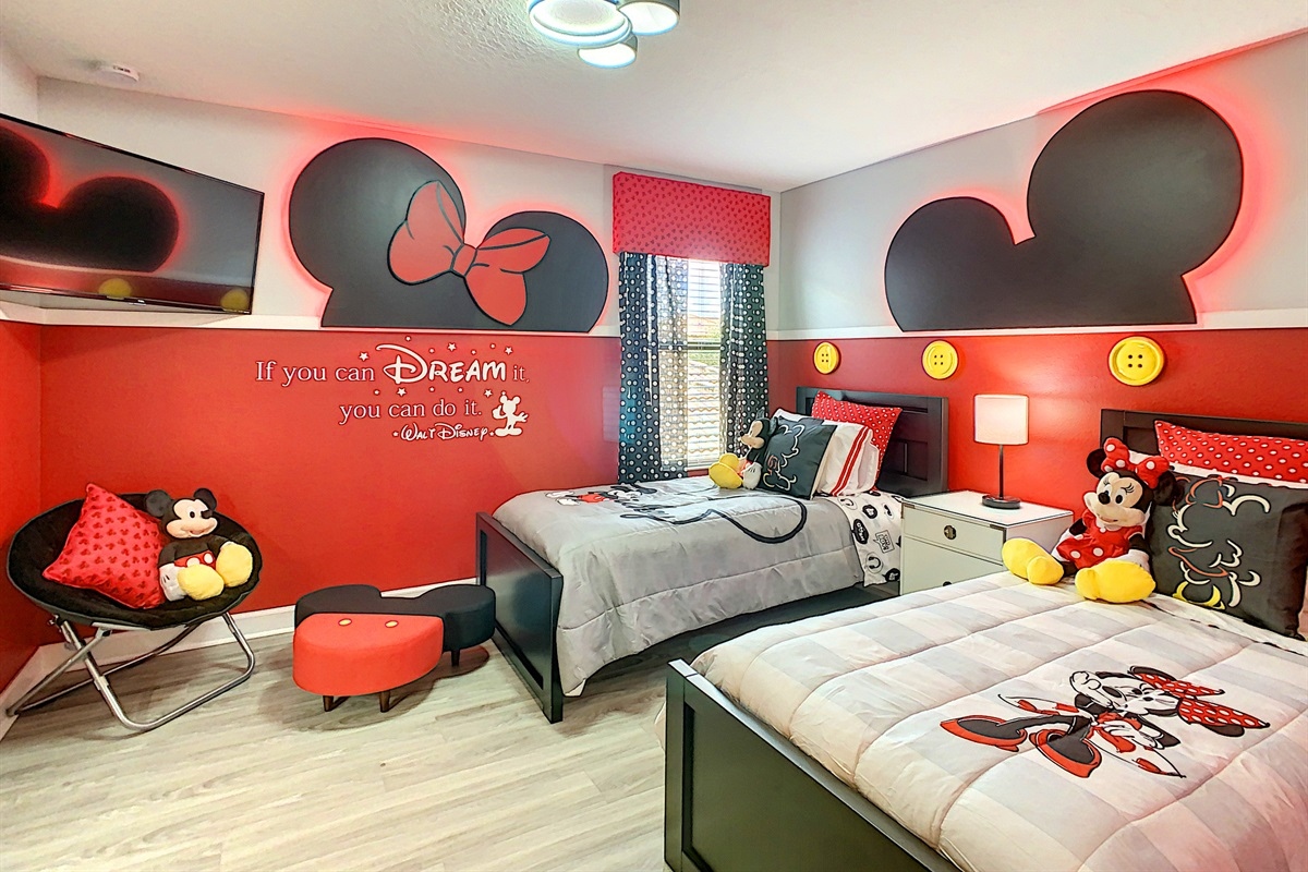 This Is One Of Four Themed Kids Bedrooms
