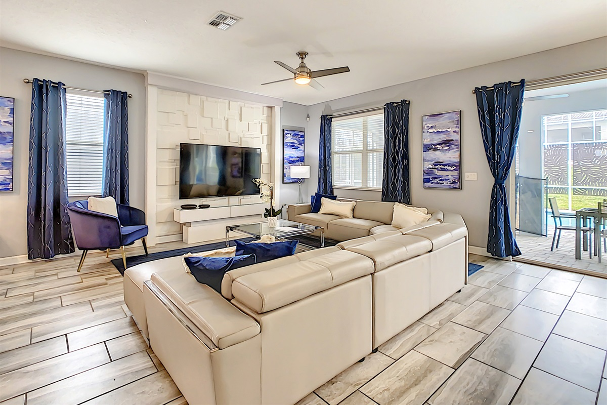 "Living Room-75"" TV"