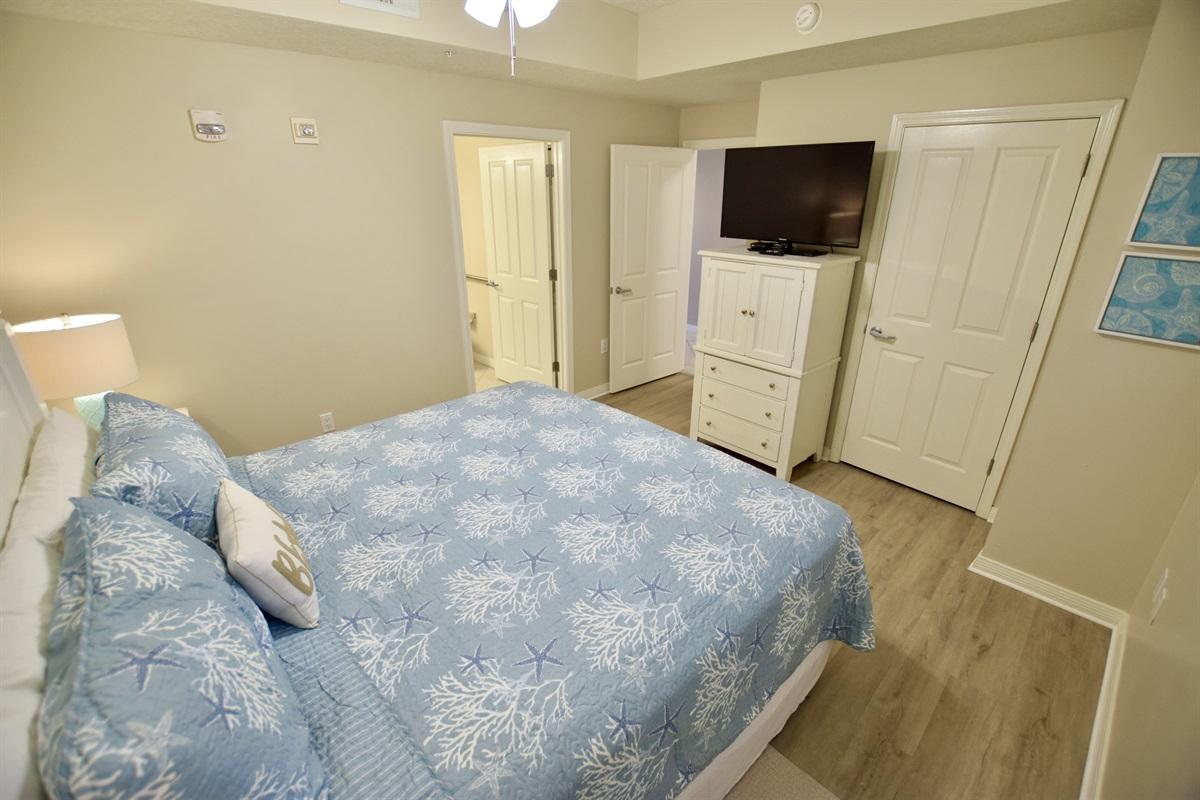 Destin West Gulfside #309 - Master bedroom