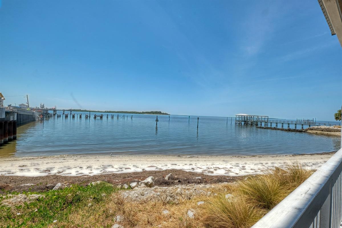 Amazing views of the Gulf