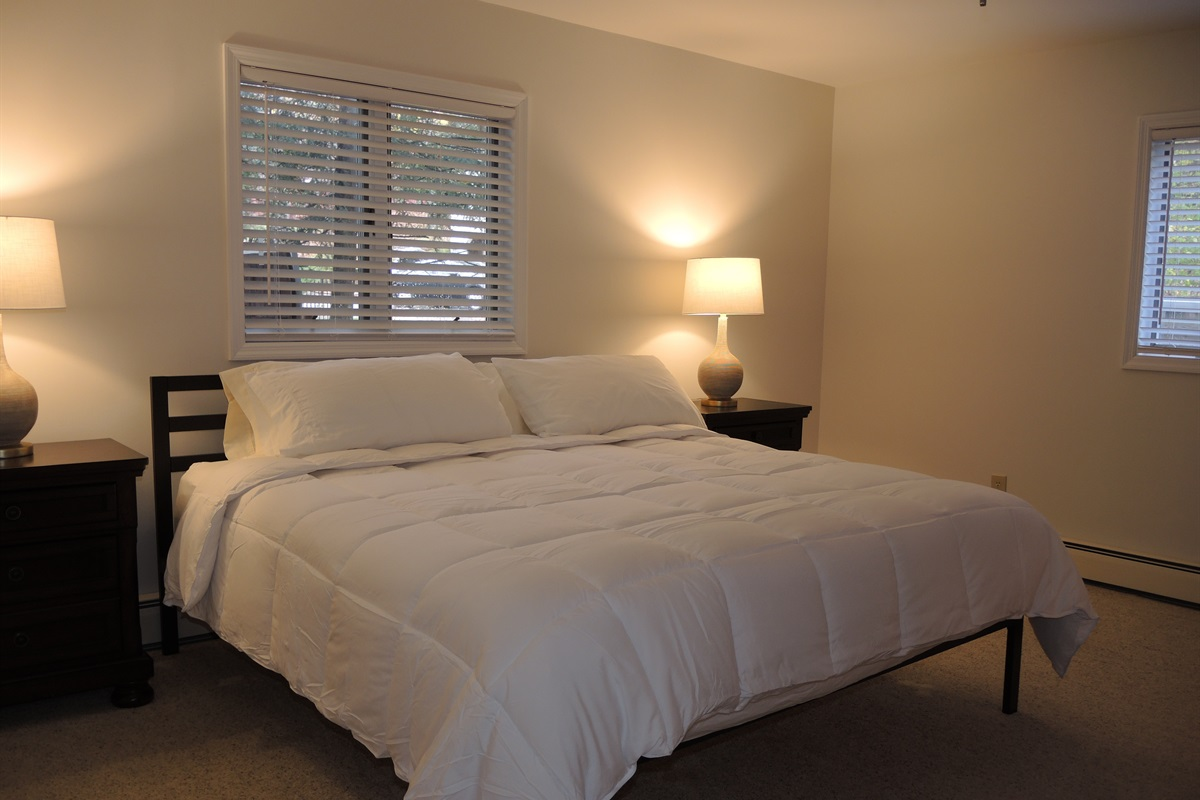 1st floor Master King bedroom - entry off of game room