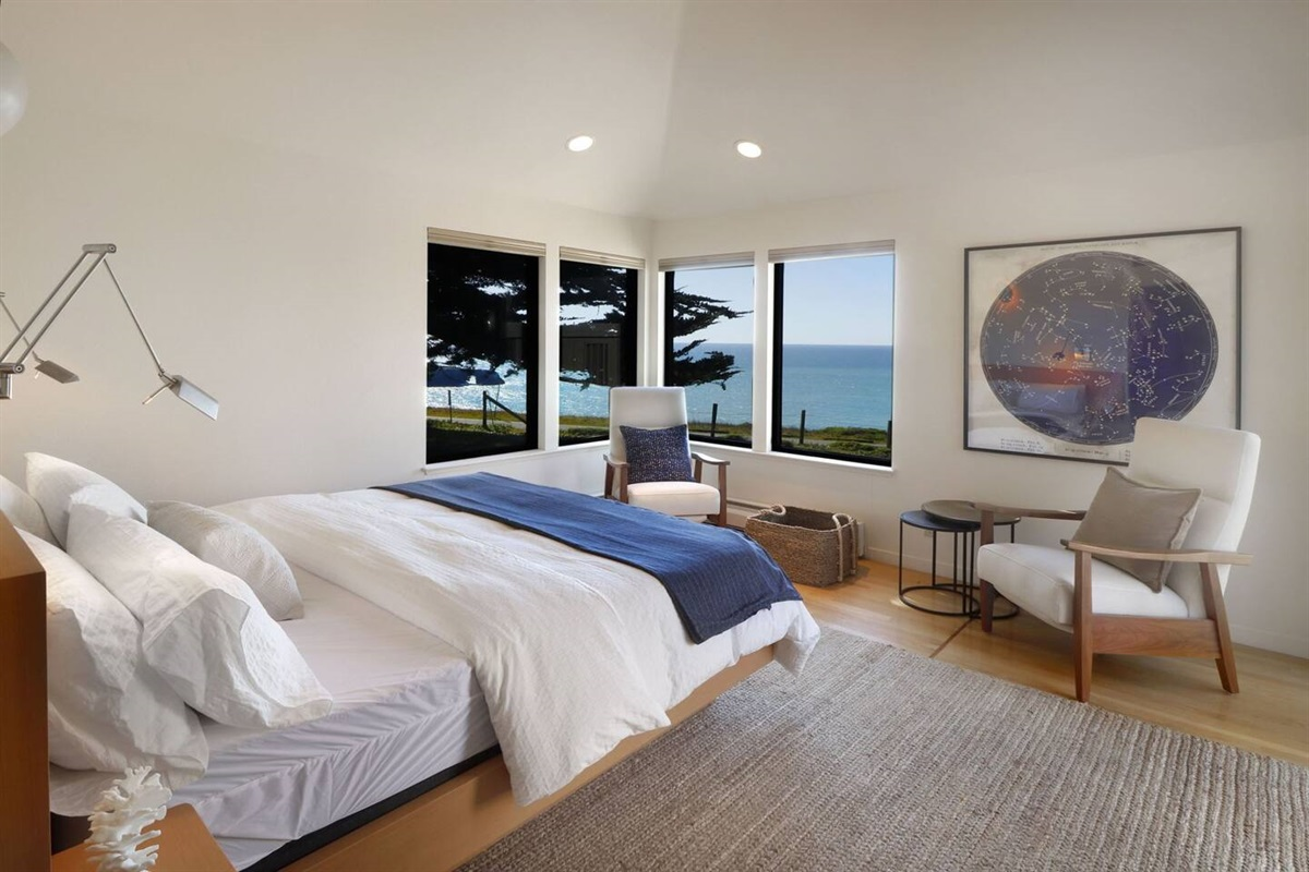 Pacific Sunset Master Suite Views to Ocean