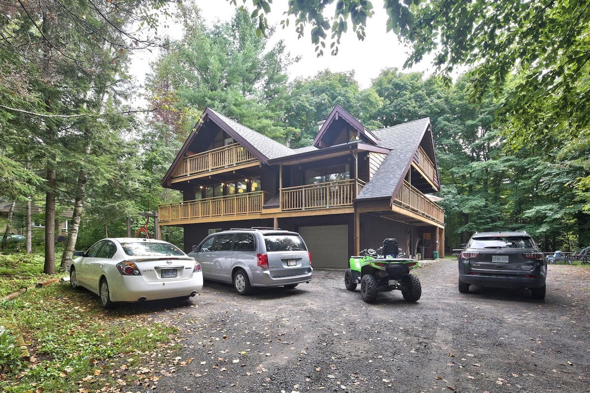 Guaranteed to enjoy yourself.  Watch the tour - http://www.propertygallery.ca/muskoka-four-seasons-home.html