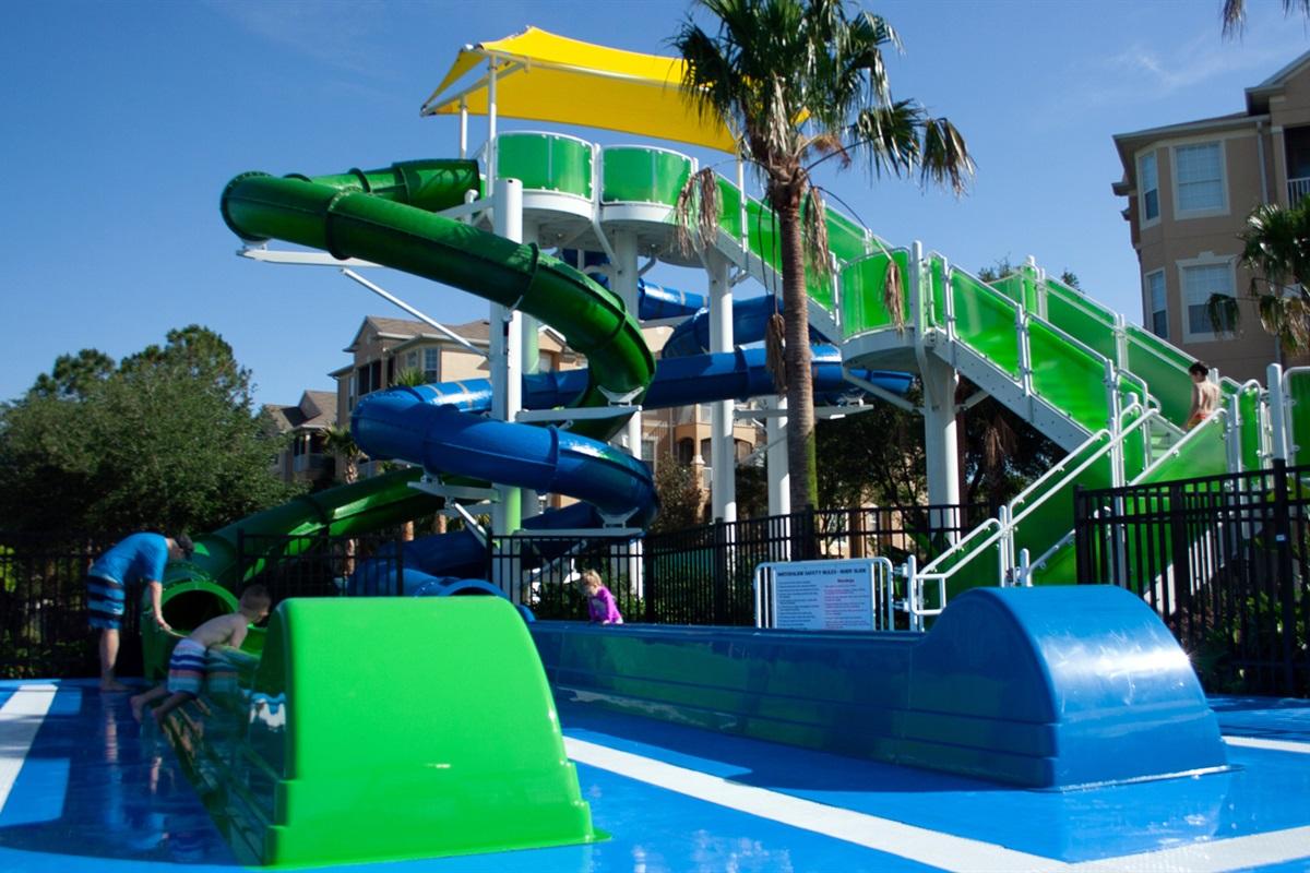 Windsor Hills Resort Water Slides