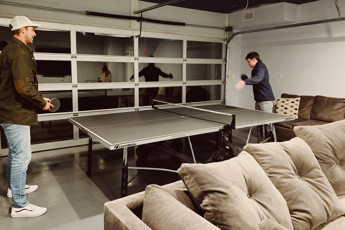 Next up - table tennis. @ericaexploresamerica