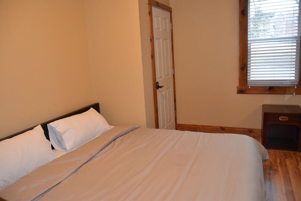 Bedroom #1 with King size bed and Endy mattress