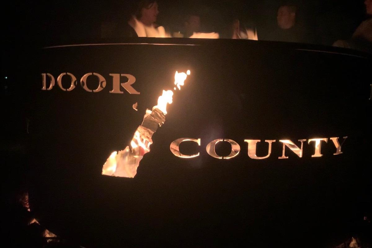 Custom Door County Firepit!