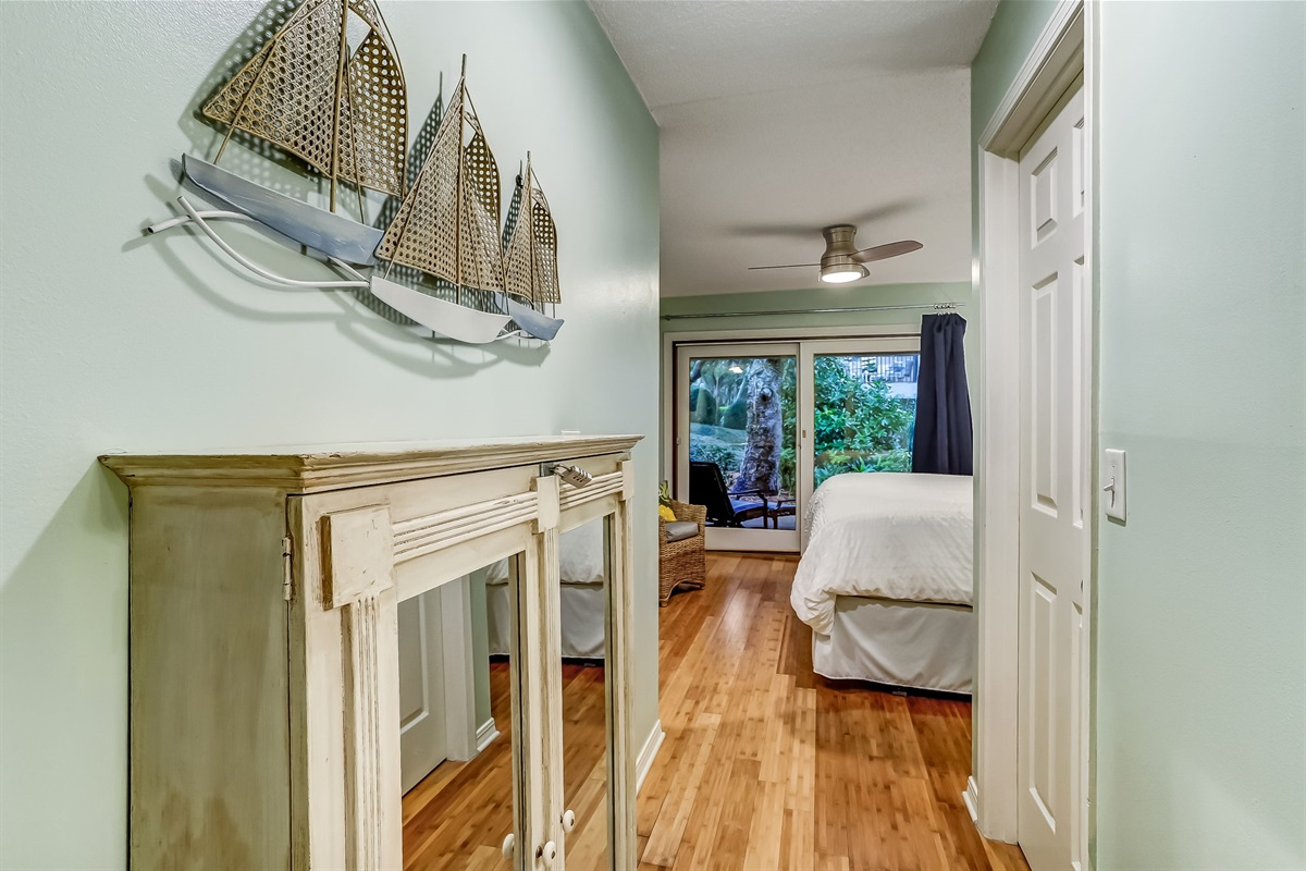 Hall in Master to Full Bathroom