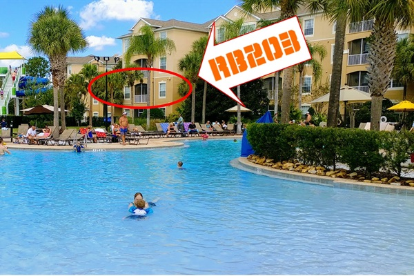 Best spot in the Resort!