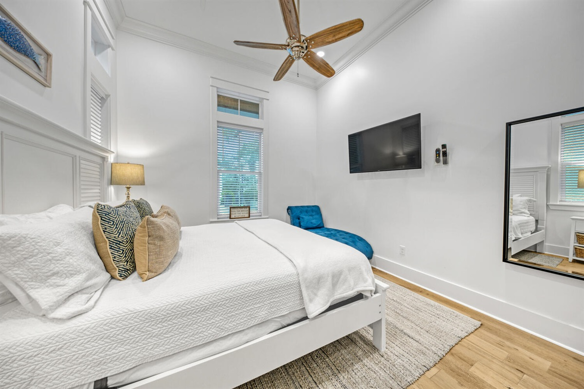 First Floor - King Bedroom