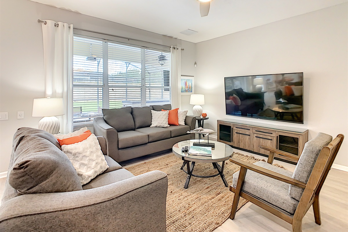"""Family Room - 75"""" Television"""