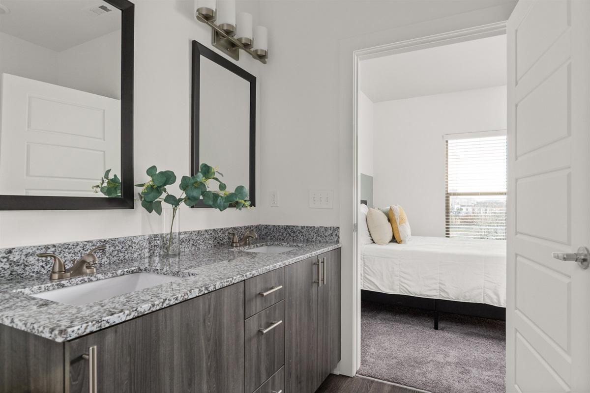 Bathroom for bedroom #1