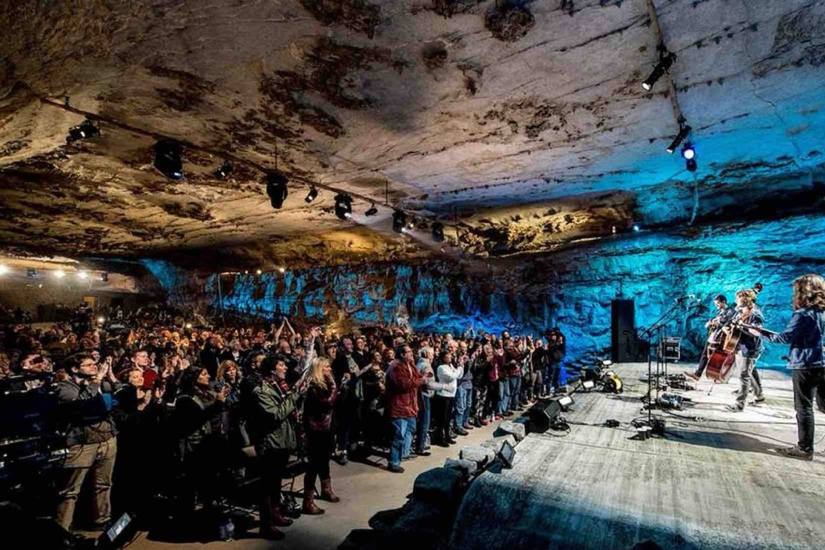 The Caverns is a concert venue located 13 minutes away from the Retreat