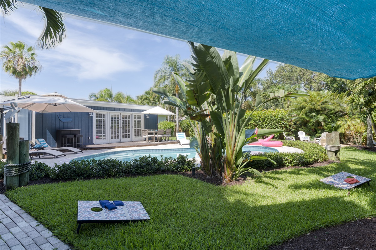 Stunning home in quite, safe neighborhood close to the beach, shopping & dining.