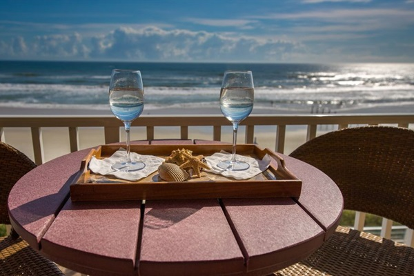 Direct beach access with extraordinary balcony views!