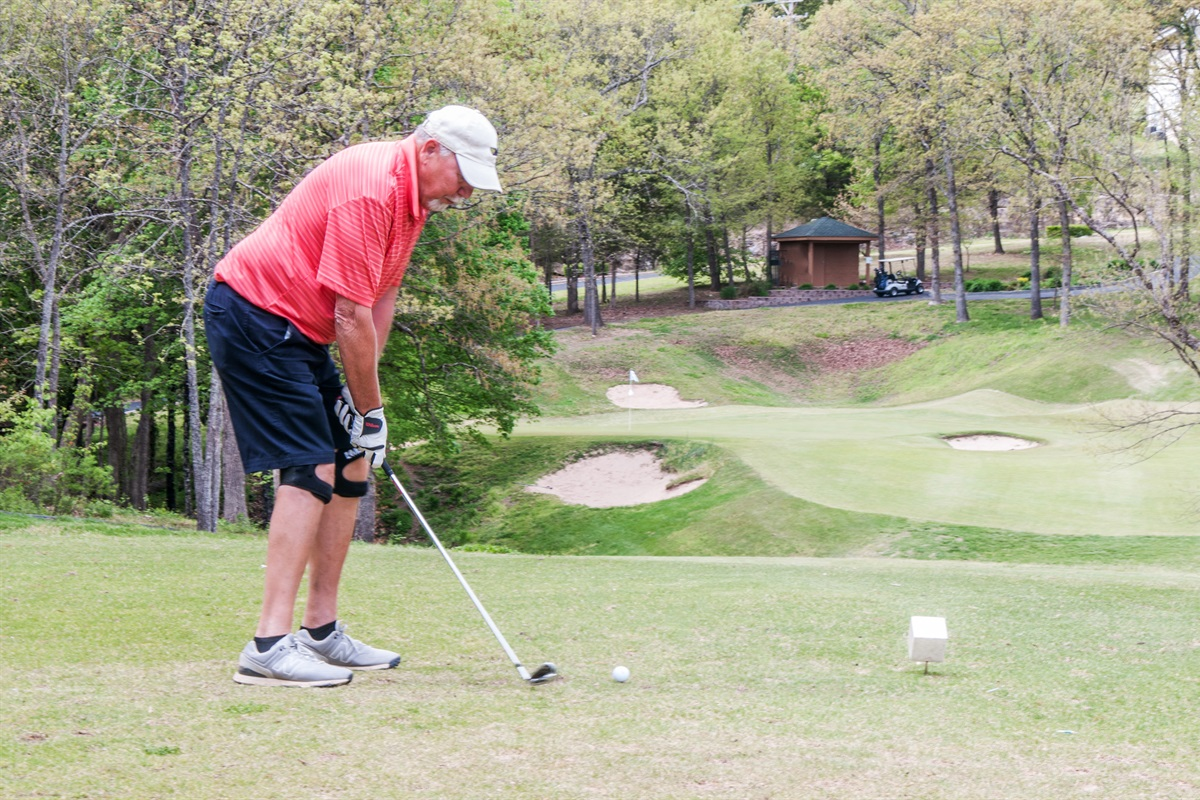 Enjoy a round of golf within walking distance of the property!
