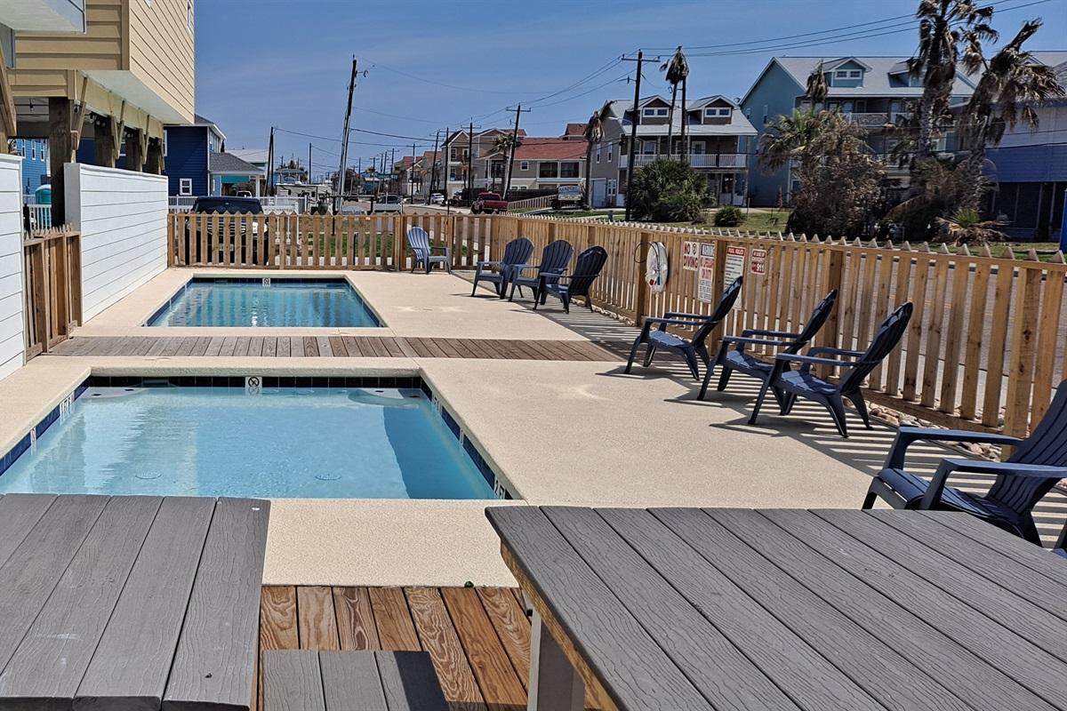 Private Community Pool