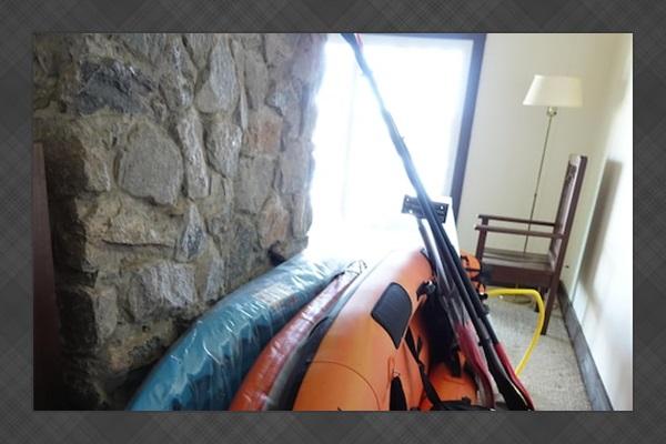 Paddle Board, 2 Kayaks