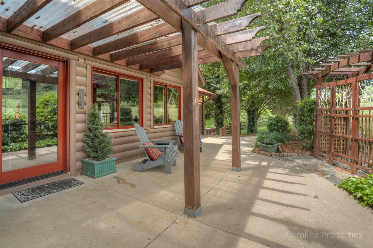 Lots of outdoor space