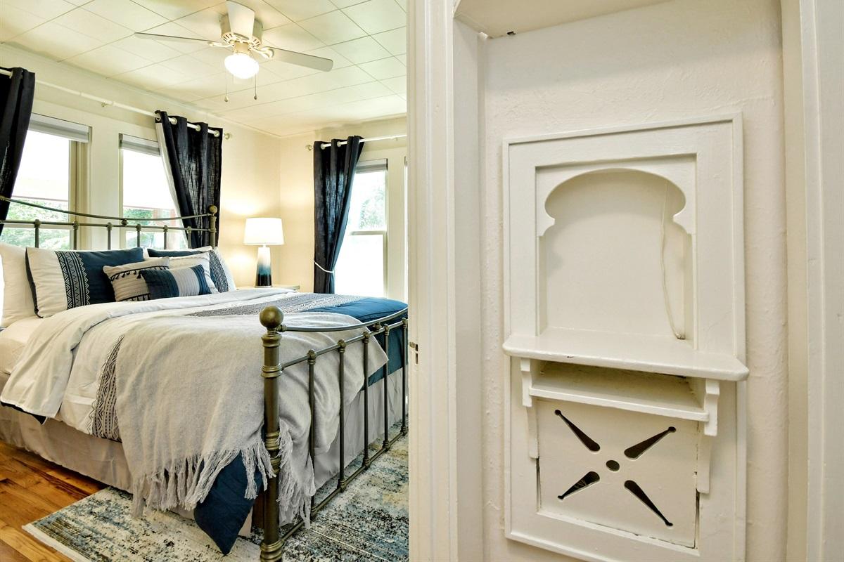Opa Haus Back Bedroom 1 - Queen Bed
