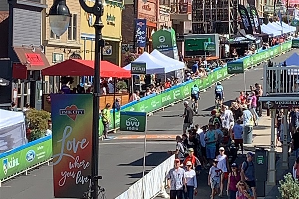 Tour of Utah finishes in PC.