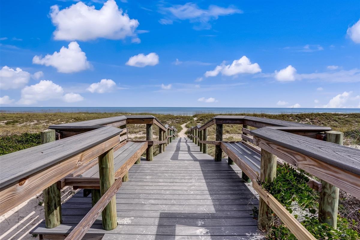 Boardwalk to Beach