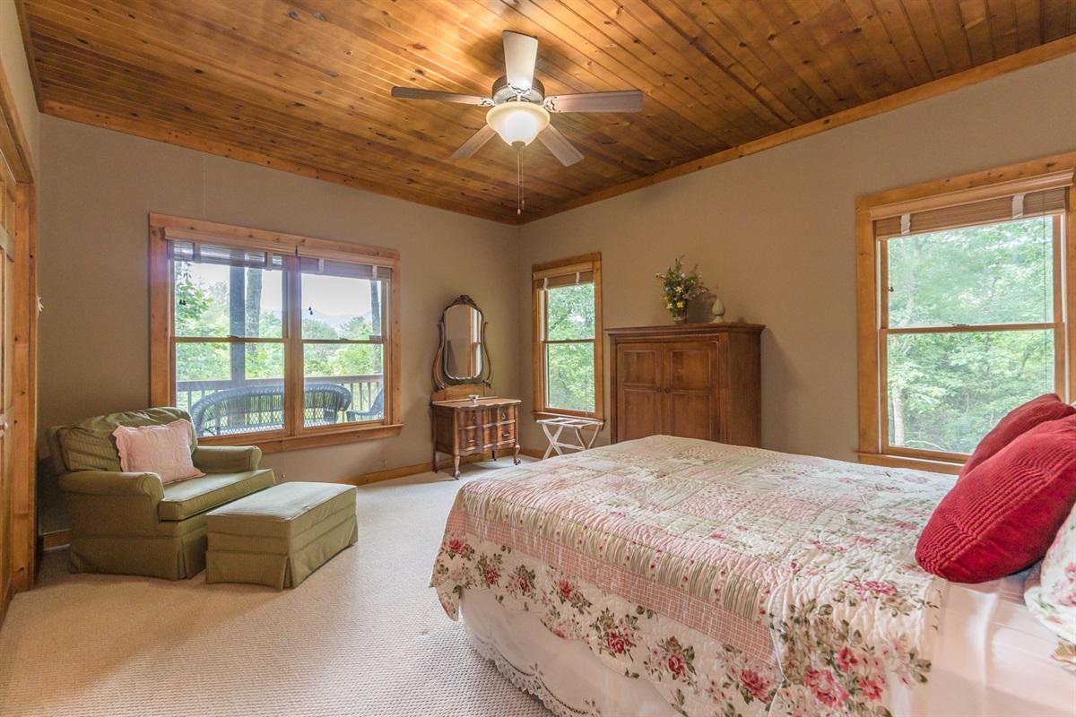 Main Floor Guest Queen Bedroom